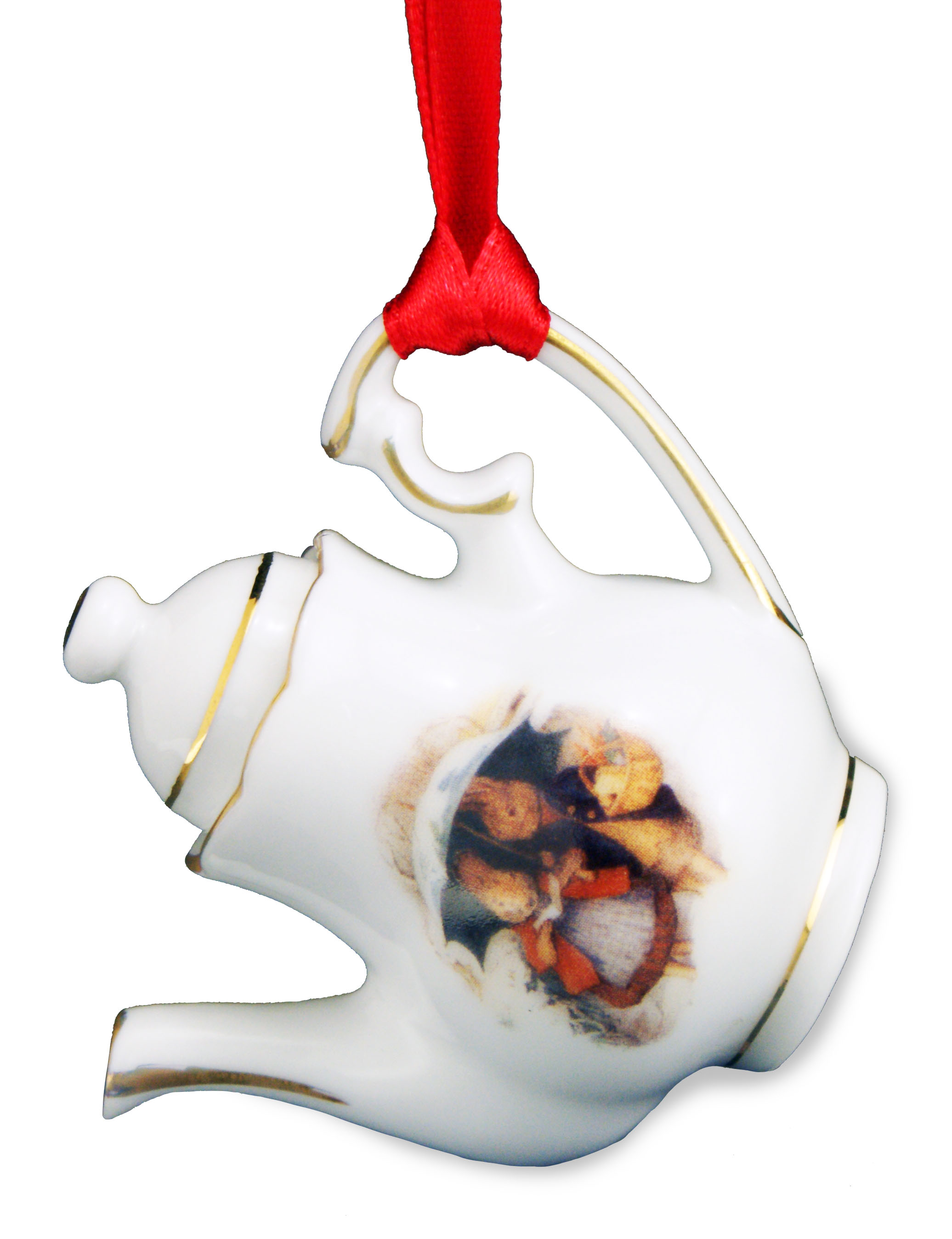 63.581/5 Peter Rabbit Miniature Christmas Tea Pot - AM International ...
